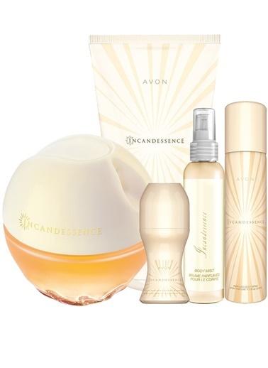Avon Incandessence Kadın Parfüm Krem Deodorant Bodymist Beşli Set Renkli